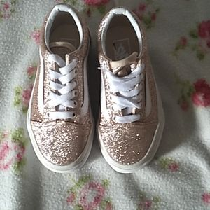 Vans Old School Glitter skateboard shoes